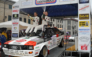 Andrea Zivian e Nicola Arena Vincitori del 9 Rally Storico Campagnolo