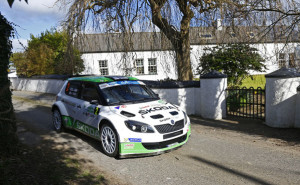 LAPPI - FERM Skoda Fabia S2000 Circuit of Ireland Rally 2014