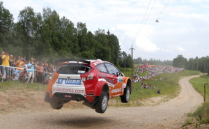 ERC 2014 Rally Estonia Ott Tanak