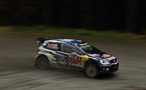 Ogier Wales Rally Great Britain 2015