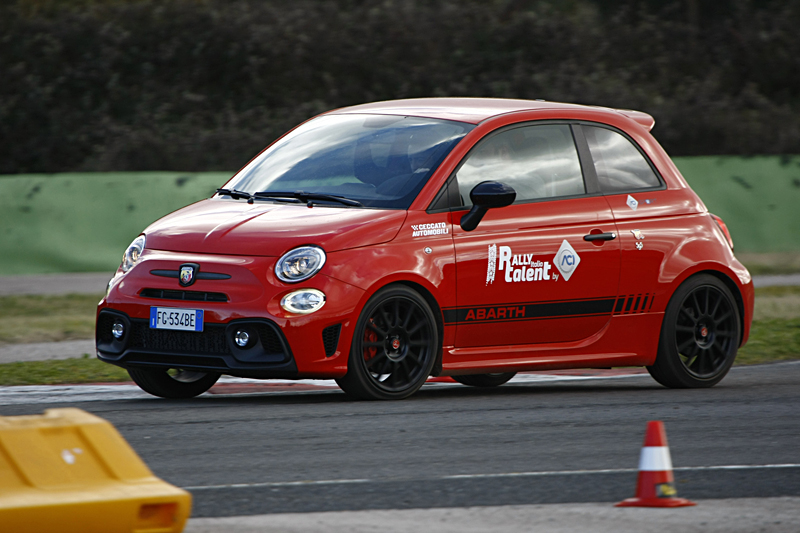Abarth Sardegna Rally Italia Talent
