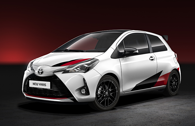 New Toyota Yaris front