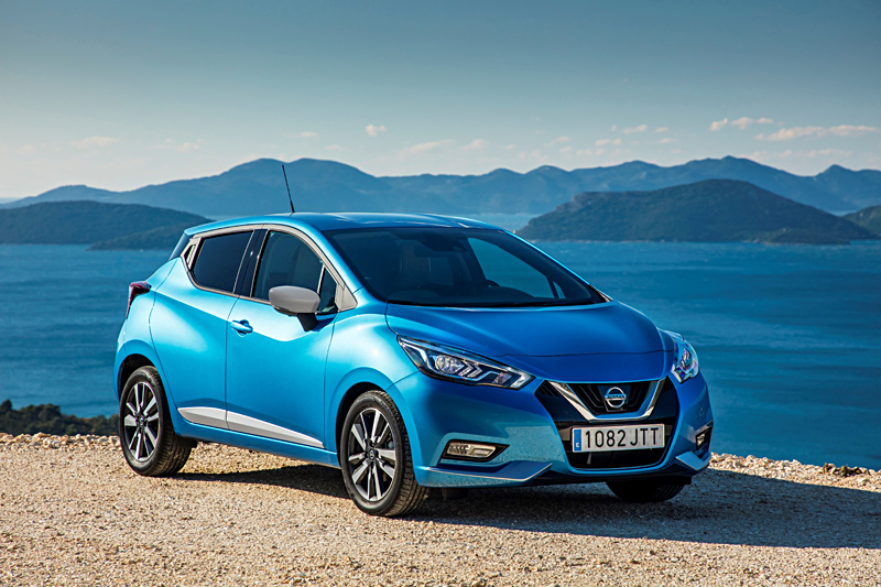 All-New Nissan Micra - Power Blue