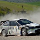 Mauro Trentin, Alice De Marco (Ford Focus WRC #7, Movisport)